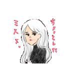 美男美女スタンプ♡(個別スタンプ:01)