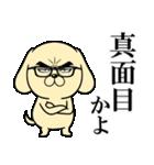 目ヂカラ☆わんこ3(個別スタンプ:27)