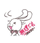 介護士のブタとウサギ(個別スタンプ:02)