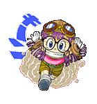 POP UP! Dr.スランプ アラレちゃんスタンプ(個別スタンプ:01)