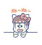動く♪おそ松さん×サンリオキャラクターズ3(個別スタンプ:1)