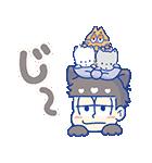 動く♪おそ松さん×サンリオキャラクターズ3(個別スタンプ:10)