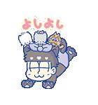 動く♪おそ松さん×サンリオキャラクターズ3(個別スタンプ:19)