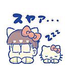 動く♪おそ松さん×サンリオキャラクターズ3(個別スタンプ:22)