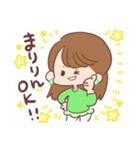 ♥まりりんスタンプ♥(個別スタンプ:01)