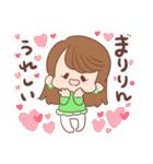 ♥まりりんスタンプ♥(個別スタンプ:02)