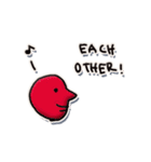 Love each other stickers(個別スタンプ:31)
