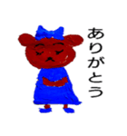 オタクマちゃん青色担当ファン(個別スタンプ:28)