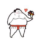 お相撲さん「ふくまる関」ゆるゆるスタンプ(個別スタンプ:1)