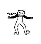 【めちゃ動く!】えりまきパンダ(個別スタンプ:09)