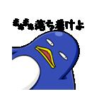 無愛想なペンギン(個別スタンプ:8)