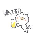 お酒大好きクマさん★(個別スタンプ:14)