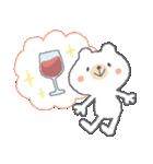 お酒大好きクマさん★(個別スタンプ:30)
