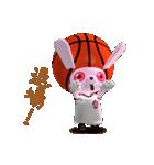 バスケ応援うさばす3(個別スタンプ:36)