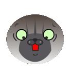 顔だけ ちゃちゃ猫 日常会話編(個別スタンプ:14)