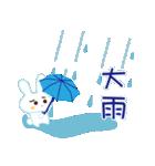 雨の日のうさぎ(個別スタンプ:20)