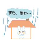 雨の日のうさぎ(個別スタンプ:38)