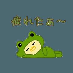 着ぐるみピヨ子(不機嫌なピヨ子)