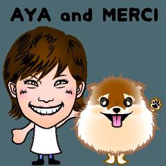 アヤ and メルシー