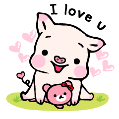 Small Pig & Teddy (EN)