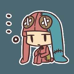 [LINEスタンプ] 無気力うさぎさん (1)