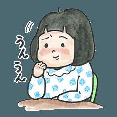 しーちゃんスタンプ(修正版)