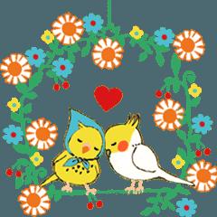 動く Chirping Birds