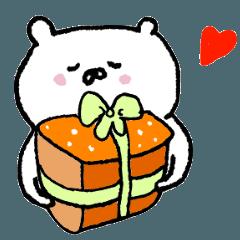 シロクマさんの誕生日お祝い