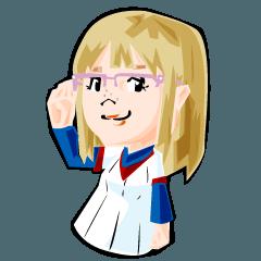 野球少女・ゆき乃さん