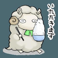 羊のジンくん&ラムちゃんスタンプ