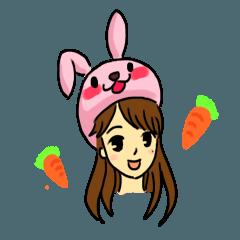 Cute girl Saori