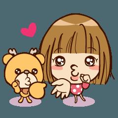 Baby YunYun & BearDeer