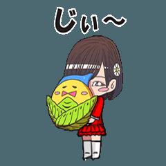 【南幌町】キャベッチくんと地元アイドル