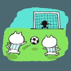 サッカーママ用スタンプ