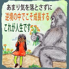 墨金(Mo Jin)ー6世の自由な生活(2-3J)