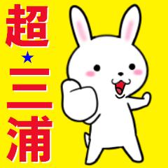 超★三浦なウサギ