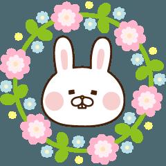 出っ歯うさぎの春*卒業/入学・卒園/入園*