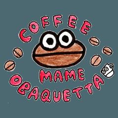 コーヒー豆オバケ