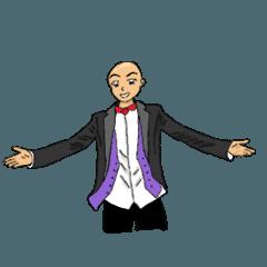 barehead man