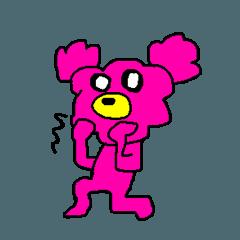 pinkpink bear
