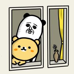 パンダおっさんのくま