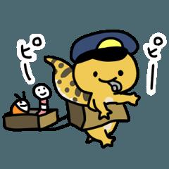 ヒョウモントカゲモドキのレオパちゃん2