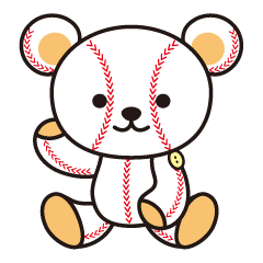 野球クマさん
