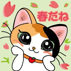 三毛猫ちゃんスタンプ part2