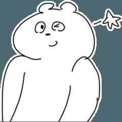 [LINEスタンプ] 37分で作ったスタンプ(くま) (1)