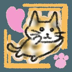 ミケ猫ミーコ