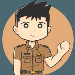Praja the Browny Boy : Animated