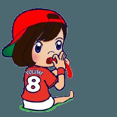 動く!100%広島女子/野球チームと応援団8