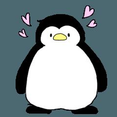 愛が重いペンギン