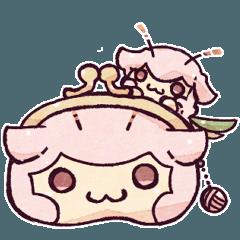 """""""羊セミ""""スタンプ、番外編!【2】"""